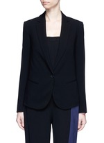 'Robiva' stretch crepe jacket
