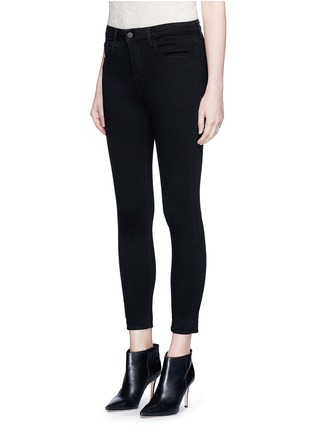 Front View - Click To Enlarge - L'Agence - 'The Margot' cropped skinny pants