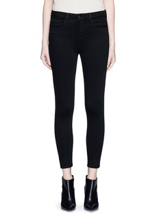 L'Agence'The Margot' cropped skinny pants