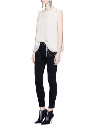 Figure View - Click To Enlarge - L'Agence - 'The Margot' cropped skinny pants