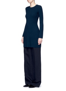 Theory'Ardesia' rib knit swing dress