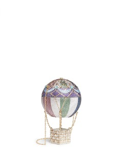 Judith Leiber 'Hot Air Balloon' crystal pavé minaudière
