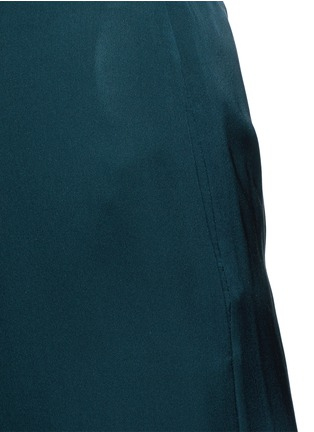 Detail View - Click To Enlarge - Theory - 'Zavabell' cropped relaxed silk pants