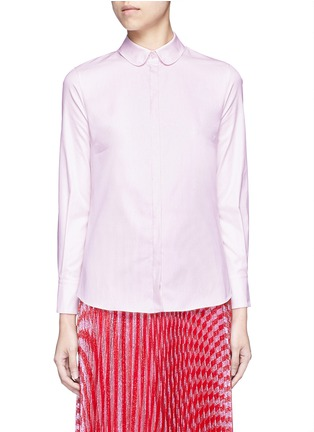 Gucci - Sequin bow Oxford shirt