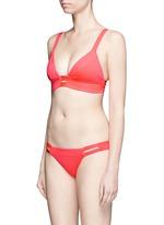 'Neutra' cutout hipster neon bikini bottoms