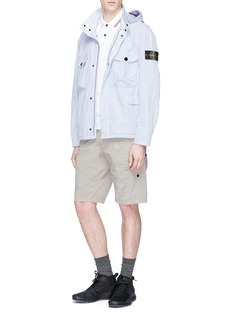 Stone Island David Tela Light-TC hooded field jacket