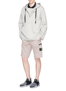 Stone Island Logo badge cargo shorts