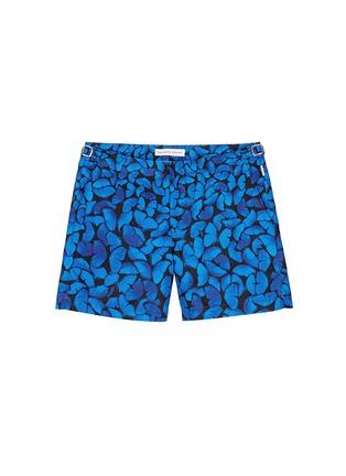 Main View - Click To Enlarge - Orlebar Brown - Bulldog Fauna Butterflies' photo print swim shorts