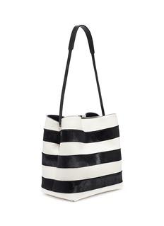 Proenza Schouler 'Frame' stripe leather shoulder bag