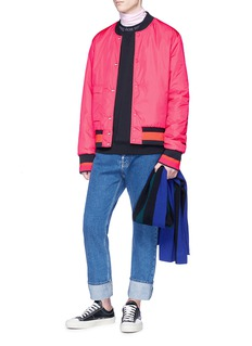 Acne Studios 'Mills Face' reversible bomber jacket