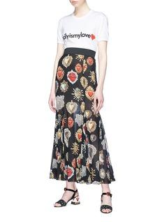 Dolce & Gabbana '#sicilyismylove' slogan print T-shirt