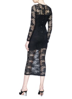 Dolce & Gabbana Guipure lace midi dress