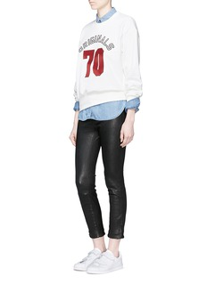 MO&Co.'ORIGINALS 70' sequin embellished sweatshirt