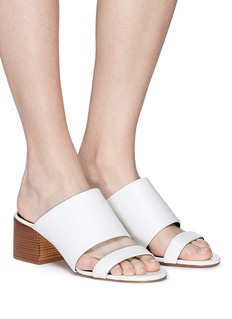 3.1 Phillip Lim 'Cube' double band leather sandals