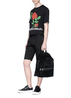 Dolce & Gabbana Logo stripe outseam shorts
