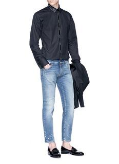 Dolce & Gabbana Logo trim shirt