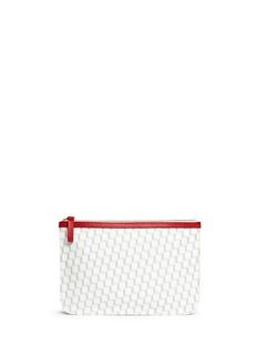 Pierre HardyCube print zip pouch