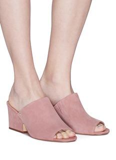 Sam Edelman 'Rheta' suede mule sandals