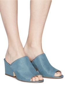 Sam Edelman 'Rheta' satin mule sandals