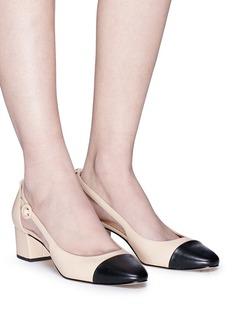 Sam Edelman 'Leah' toe cap cutout leather pumps