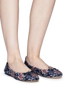 SAM EDELMAN Felicia花卉图案芭蕾平底鞋