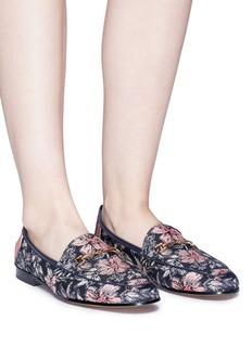 Sam Edelman 'Loraine' horsebit floral jacquard step-in loafers