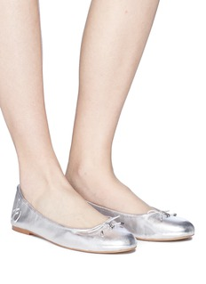 Sam Edelman 'Felicia' metallic leather ballet flats