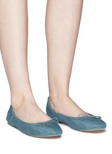 SAM EDELMAN Felicia缎面芭蕾平底鞋