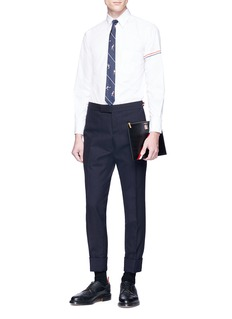 Thom Browne Stripe sleeve shirt