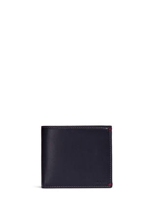 Main View - Click To Enlarge - Paul Smith - 'Mini Graphic Edge' print interior bifold leather wallet