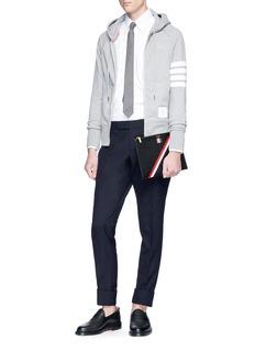 Thom Browne Stripe sleeve jacket