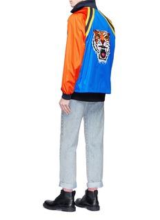 Gucci Tiger appliqué colourblock track jacket