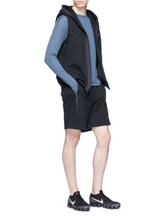 Particle Fever Belted sweat shorts