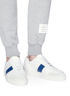 Axel Arigato 'Dunk' contrast stripe leather sneakers