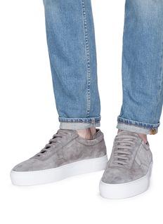Axel Arigato Logo print suede sneakers