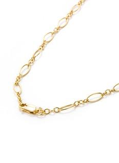 Khai Khai 18k yellow gold figaro chain