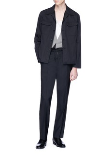 Maison Margiela Twill shirt jacket