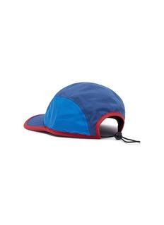 Daily Paper Logo embroidered colourblock baseball cap