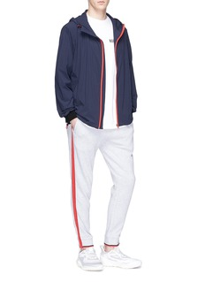 The Upside 'Twin Line' stripe outseam sweatpants