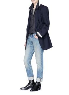 Maison Margiela 'Stereotype' appliqué ripstop coach jacket