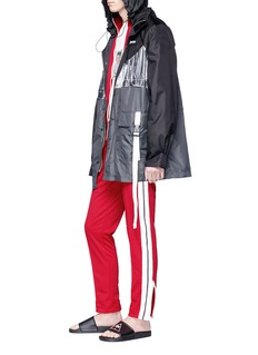 Palm Angels Stripe sleeve track jacket