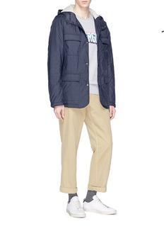 Ecoalf 'Harry' padded hooded jacket