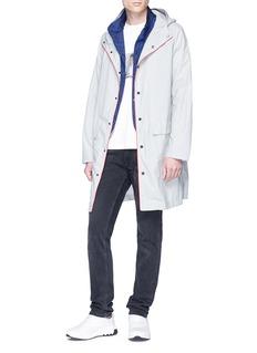 Ecoalf 'Everton' hooded trench coat