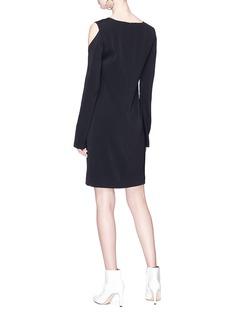 Helmut Lang 'Siren' cold-shoulder dress