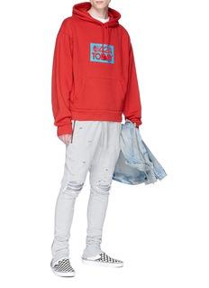424 '424 Today' print hoodie