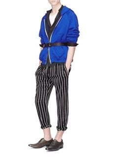 Haider Ackermann Stripe crepe jogging pants