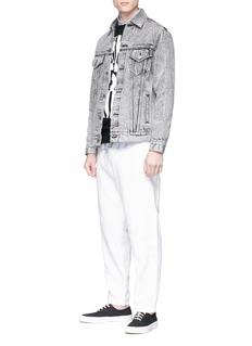 MAISON KITSUNÉ x NBA标志及品牌名称纯棉卫衣