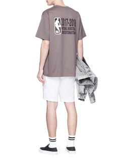 Maison Kitsuné x NBA logo print T-shirt
