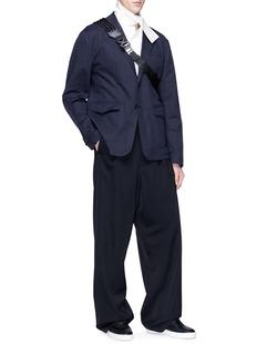 Staffonly 'Suzuki' layered patch pocket shirt