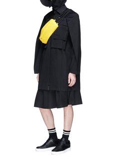 Staffonly 'Haze' twill raincoat